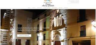 Inauguramos la web de la Fundación